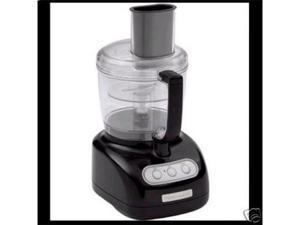 Kitchenaid black Food Processor KFP710ob 7 Cup With Warranty Manufacturer Refurbished