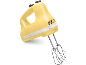 KitchenAid KHM512MY 5-Speed Ultra Power Hand Mixer Majestic Yellow