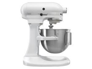 KitchenAid 7-Quart Super Capacity R-KSM7581WH 7-Quart Bowl Lift Stand Mixer White Manufacturer Refurbished