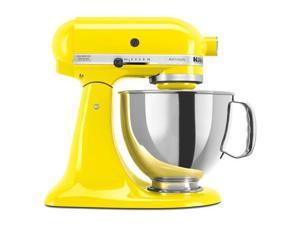 New Kitchenaid Stand Mixer tilt 5-Quart ksm150psyc Yellow Citrus Artisan
