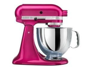 Kitchenaid Stand Mixer tilt 5-QT R-Ksm150psri rk150ri Raspberry Ice Artisan Tilt Manufacturer Refurbished