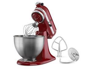 New Red Kitchenaid Stand Mixer Tilt 4.5-Quart ksm85pber Metal stainless steel bw