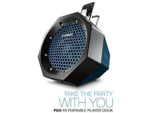 Yamaha PDX-11 2-way Portable Indoor/Outdoor Speaker Black iPod iphone pdx11 Manufacturer Refurbished