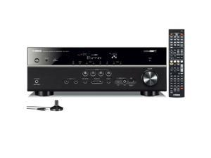 Yamaha Rx-V573 3D 7.1 Channel Home Theater HD Network Receiver YPAO HDMI Rxv573 Manufacturer Refurbished