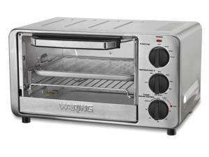 Waring Pro WTO450SIL Professional Toaster Oven Brushed Stainless Steel Silver
