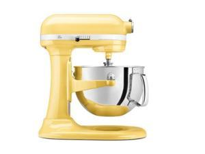KitchenAid KV25MEXMY Professional 550 Plus 5.5 Qt. Stand Mixer, Bowl Lift Majestic Yellow