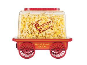 Brentwood Vintage Style Wagon Popcorn Maker Red PC-481