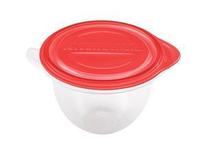 KitchenAid Stand Mixer Reusable PBA-free Bowl Liners+Lids 2-pack fits 4.5 & 5 Qt