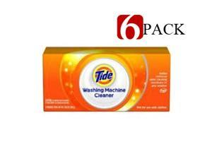 6 PACK Tide Laundry Washing Machine Cleaner 3 Count