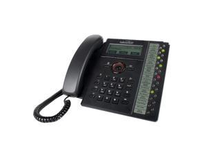 Fortinet FortiFone-560i Business VOIP SIP Phone  10/100/1000 Lan  10/100/1000 PC  PoE  with Power Adapter   22 up to 46 lines with 2*FON- FON-560i