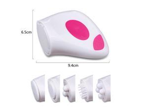 5 in 1 Advanced Electric Facial Skin Cleansing Massager System
