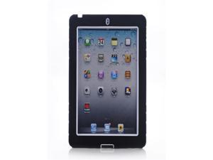 For Apple iPad Mini Hybrid Hard Rubberized Kickstand Cover Case