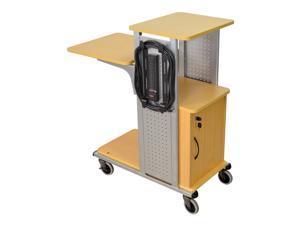 Boardroom Presentation Cart w Cabinet