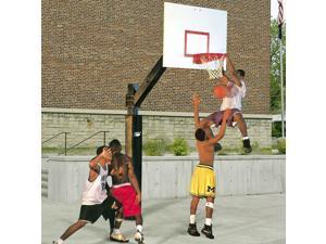 Basketball System - Ultimate Playground w Backboard, No-Fail Netlock