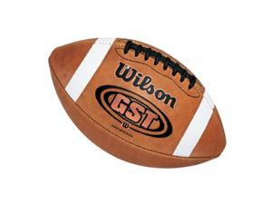 Football - Wilson GST Leather Official Size, Weight