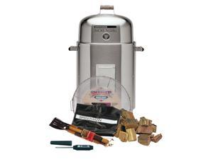 Stainless Steel Charcoal Smoke'N Grill w Value Pack