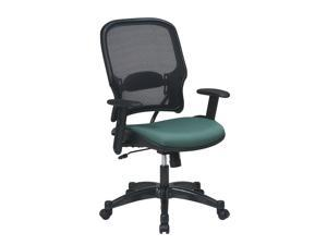 Professional Air Grid Back and Fabric Seat Managers Chair with Adjustable Padded Arms (Amazon)