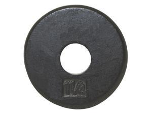 USA Sports Black Standard Weight Plate (8 in. Dia x 1 in. H (7.5 lbs.))