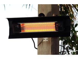 1500 Watt Infrared Patio Heater - Wall-Mounted Electrical Heating System