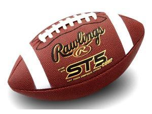Rawlings ST5 Junior Composite Football for Ages 9-12