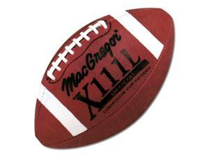 "MacGregor X111L Official Football in ""Pro Pass"" Cut Pattern"
