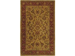 Ancient Treasures Camel & Burgundy Rug - A-111 (8 ft. x 11 ft.)