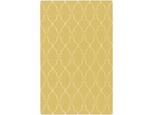 Fallon FAL1001 Designer Wool Rug in Yellow (2 ft. x 3 ft.)