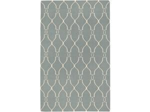 Fallon FAL1005 Designer Sky Blue Wool Rug (2 ft. 6 in. x 8 ft. Runner)