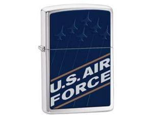 US Air Force Windproof Lighter (Pouch w Clip - Black)