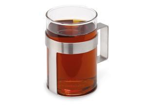 Pekoe Tea Glass with Removable Stainless Steel Holder