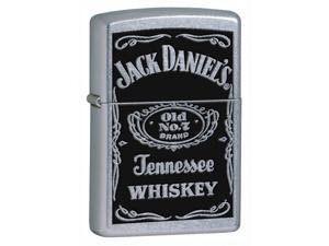 Jack Daniel's Label Windproof Lighter (Pouch w Clip - Black)
