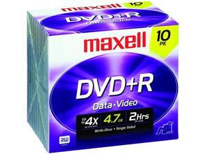 4.7 GB DVD+Rs (10 Pk)