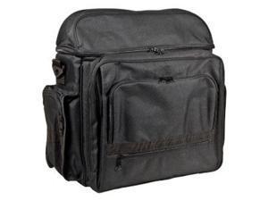 Heritage Black Traveler Backpack w Multiple Compartments
