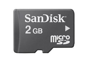 SanDisk 2 GB microSD Card - 2 GB