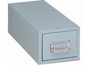 3x5 Card Cabinet (Gray Steel)