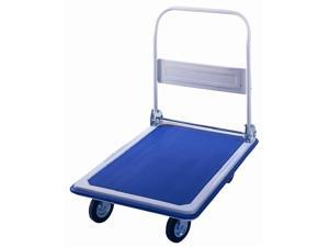 Small Platform Transport Dolly in Blue