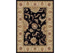 Como Olefin Traditional Rug (5.5 ft. x 7.7 ft. in Ivory)