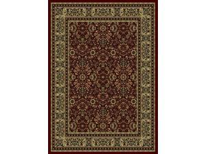 Castello Rectangular Soft Rug (7.9 ft. x 11 ft. in Burgundy)