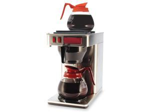 "Coffeepro 2-Burner Coffeemaker,10""X12""X22"",3 Prong Cord,Stainless St"