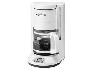 "Coffeepro Automatic Coffeemaker, 12-Cup, 8""X8-1/2""X13"", White"