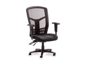 "Lorell Executive High-Back Chair,Mesh Fabric,28-1/2""X28-1/2""X45,Black"