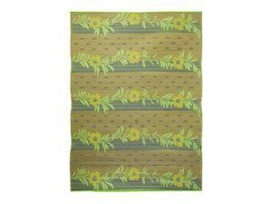 Gold Vines Floor Mat