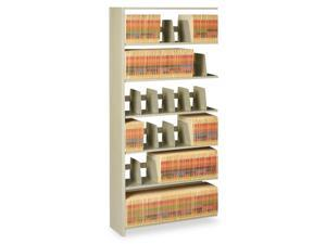 "Tennsco Corp. 7-Shelf Add-On Unit, 36""X12""X88"", Sand"