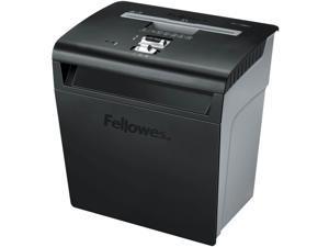 "Fellowes, Inc Shredder, Cross-Cut, 8 Sheet Cap,14-3/16""X14-3/16""X10"",Bk/Gy"