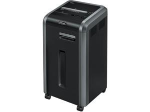 "Fellowes, Inc Shredder,Cross-Cut,20 Sht Cap,17-3/4""X17-1/8""X31-3/4"",Bk/Sr"