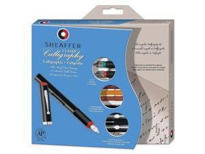 Sheaffer Pen C/O Hhd Calligraphy Maxi Kit,w 3 Pens,3 Nibs,14 Assorted Color Ink