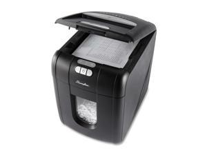 "Swingline Shredder, Cross-Cut, Auto, 100 Sht Cap, 17""X12""X17"", Black"