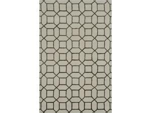 Indigo Area Rug In Cream-Brown - 11 ft. x 8 ft.