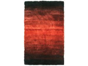 Jewel Area Rug In Black-Rust - 8 ft. x 5 ft.