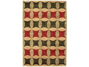 Legacy Area Rug In Rust-Green-Gold - 10 ft. x 8 ft.